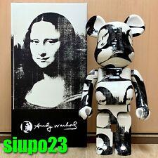 Medicom 1000% Bearbrick ~ Andy Warhol Be@rbrick Double Mona Lisa Ver