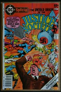 DC SPECIAL SERIES # 29 : FINE+ : SEPT 1977. (DC COMICS). JUSTICE SOCIETY
