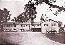 Sweden Nässjö Nassjo - Building & Car 1950 mailed old unused postcard