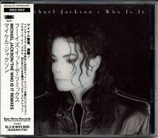 MICHAEL JACKSON Who Is It Remixes JAPAN CD 5 Tracks W/Obi RARE