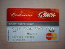 Budweiser & Bud Light Mastercard Reward Card