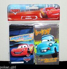 Disney Pixar CARS Notebook (4 Pack) ~ NIP!