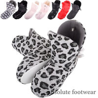 Ladies Womens Cosy Slip On Winter Fluffy Sequin Slipper Boots Booties