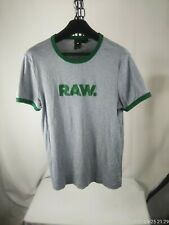 Men's XXL G STAR RAW gray tee shirt RAW short sleeved Auction starts at $9.99