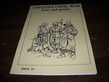 English Civil War Notes and Queries Issue 21