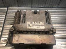 VW Golf MK6 2.0 TDi 2009 - 2012 ECU Engine Control Unit 03L907309R 03L906018