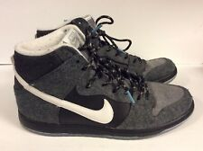 competitive price 0d474 ad132 Nike Dunk High SB Premier Petosky Charcoal Black Gray Sz 11.5 Men 645986-010