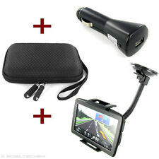 NAVI HALTER + CASE + KFZ USB ADAPTER Garmin nüvi 1490T 150LMT 150T 1690 nüLink 2