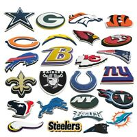 NFL 3-D Foam Magnet Man Cave Wall Sign Home Office Bar- FanFave Made in USA New