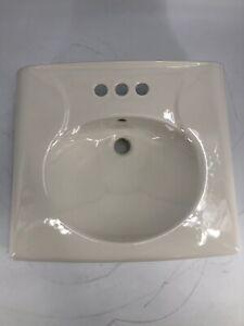 """KOHLER K-1997-4-96 Brenham Wall-Mount Bathroom Sink with 4"""" Centerset, Less Soap"""
