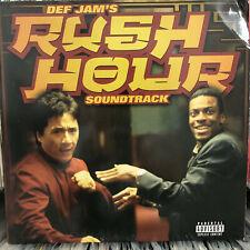 RUSH HOUR SOUNDTRACK (VINYL 2LP)  1998!!!  RARE!!!  WU-TANG + JAY-Z + REDMAN!!!