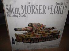 """DRAGO Armour 1:35 tedesco 54CM Morser """"Loki"""" Gerat 041"""