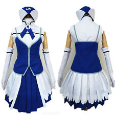 Anime Fairy Tail Juvia Loxar Cosplay Costume Outsite #077