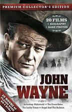 John Wayne: 20 Films (DVD, 2013, 6-Disc Set, Premium Collectors Edition)