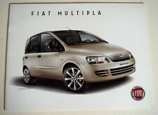Fiat . Multipla . Fiat Multipla . February 2009 Sales Brochure