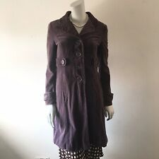 Gorgeous Boden Washed Velvet Coat (UK 8) LMT Purple