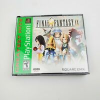 Final Fantasy IX 9 (Sony PlayStation 1, 2000) PS1 - Missing Disc 3