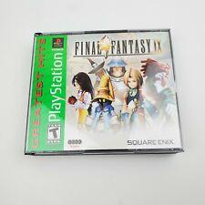 Final Fantasy IX 9 (Sony PlayStation 1, 2000) PS1 - Missing Disc 3