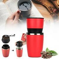 Manual Coffee Maker Hand Pressure Portable Espresso Machine for Outdoor Travel