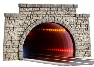Viessmann 5097 Ho Straßentunnel With LED Mirror Effect And Tiefenw. # New Boxed