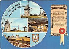 B50224 Le Mont des Alouettes moulin a vent wind mill multi  france