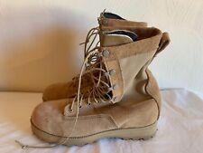 Belleville Desert Combat Boots Reinforced Toe Tan 7R Vibram GoreTex Safety