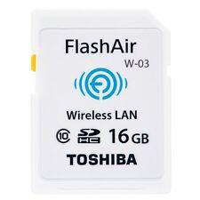 TOSHIBA 16GB Class 10 Wireless SDHC Memory Card Flash Air (W-03)
