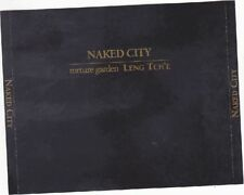 NAKED City-torture Garden - 2 CD ALBUM John rabbia