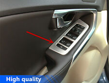 Stainless Steel Interior Door Armrest Window Buttons Trim For Volvo V40 2012-17