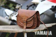 Real Genuine Leather Vintage Messenger ladies Shoulder Hippie Tote Bag purse