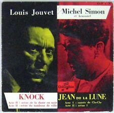 Louis Jouvet Michel Simon 45 tours Knock Lean de la Lune