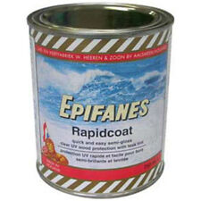 Epifanes Rapidcoat Marine Varnish Satin Finish UV Wood Protection LIGHT TINT 750