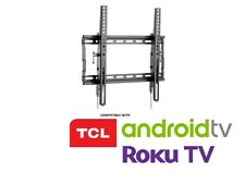 Ultra Slim Tilt TCL TV Wall Mount 43 49 50 55 58 65 Inch LED LCD UHD 4k QLED