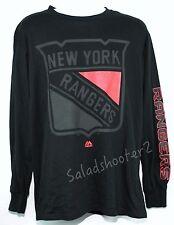 Black New York Rangers NHL Hockey XL Extra Large Shirt  New w Tags
