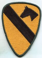 US Army 1st Cavalry Color Patch iron on or Sew On