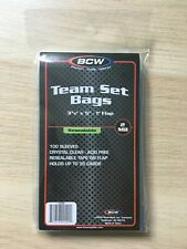 BCW Team Set Bags Pack mit 100 Sleeves Resealable