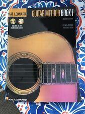 Hal Leonard Guitar Method Book 1:  Book/CD Very good condition