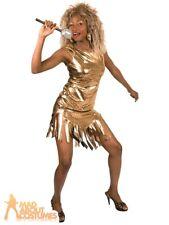 Boland 83842 Tina Turner Costume, Medium - Gold