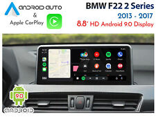 "BMW F22 2 Series - Touch 10.2"" Android 9.0 Display + CarPlay & Android Auto"