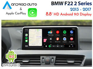 """BMW F22 2 Series - Touch 10.2"""" Android 9.0 Display + CarPlay & Android Auto"""