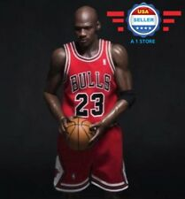 Custom Michael Jordan 1/6 scale RED Chicago Bulls Jersey 23 for Enterbay Figure