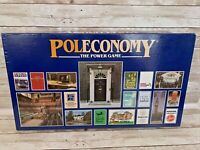 Poleconomy Board Game Vintage 1987 Board Game Spear's Games 100% Complete