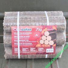 280 kgs Briquetas 40 atados madera chimeneas estufas Óptima combustión 43050106