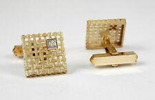 ORIGINAL par gemelos, Oro Amarillo 585 con 0,11 quilates brillante