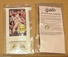 JIM PALMER Baltimore Orioles Hall of Fame Jersey # Pin One Book Promo NEW