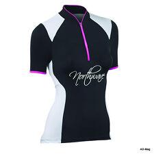 Maillot de Vélo Femme - NORTHWAVE 89131101 - Venus Jersey Noir/Fuchia T. L -NEUF