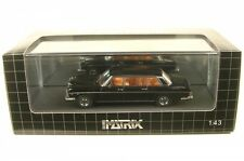 MERCEDES BENZ 300 SEL W 109 Long Vatican 1967 Black 1/43 Matrix Mx41302-071