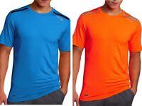 Saucony Men's VELOCITY Flex SS Tshirt - 80623 - Blue or Orange 2XL XXL