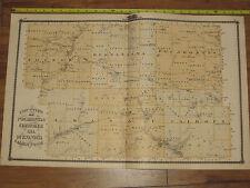 1875 Atlas of 7 Iowa Counties - Plymouth Woodbury Cherokee Ida Buena Vista +MORE