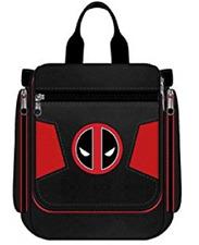 Deadpool Logo Travel Bathroom Bag Dopp Kit